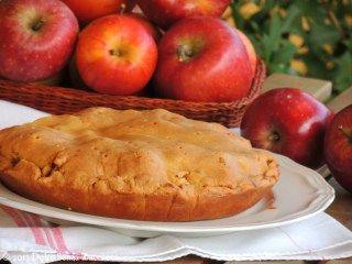 Torta di Mele Senza Farina e Senza Zucchero