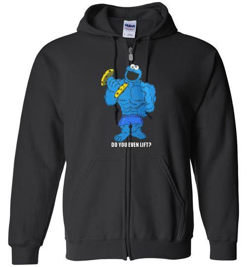 nice The Cookie Lifts Unisex zip hoodie