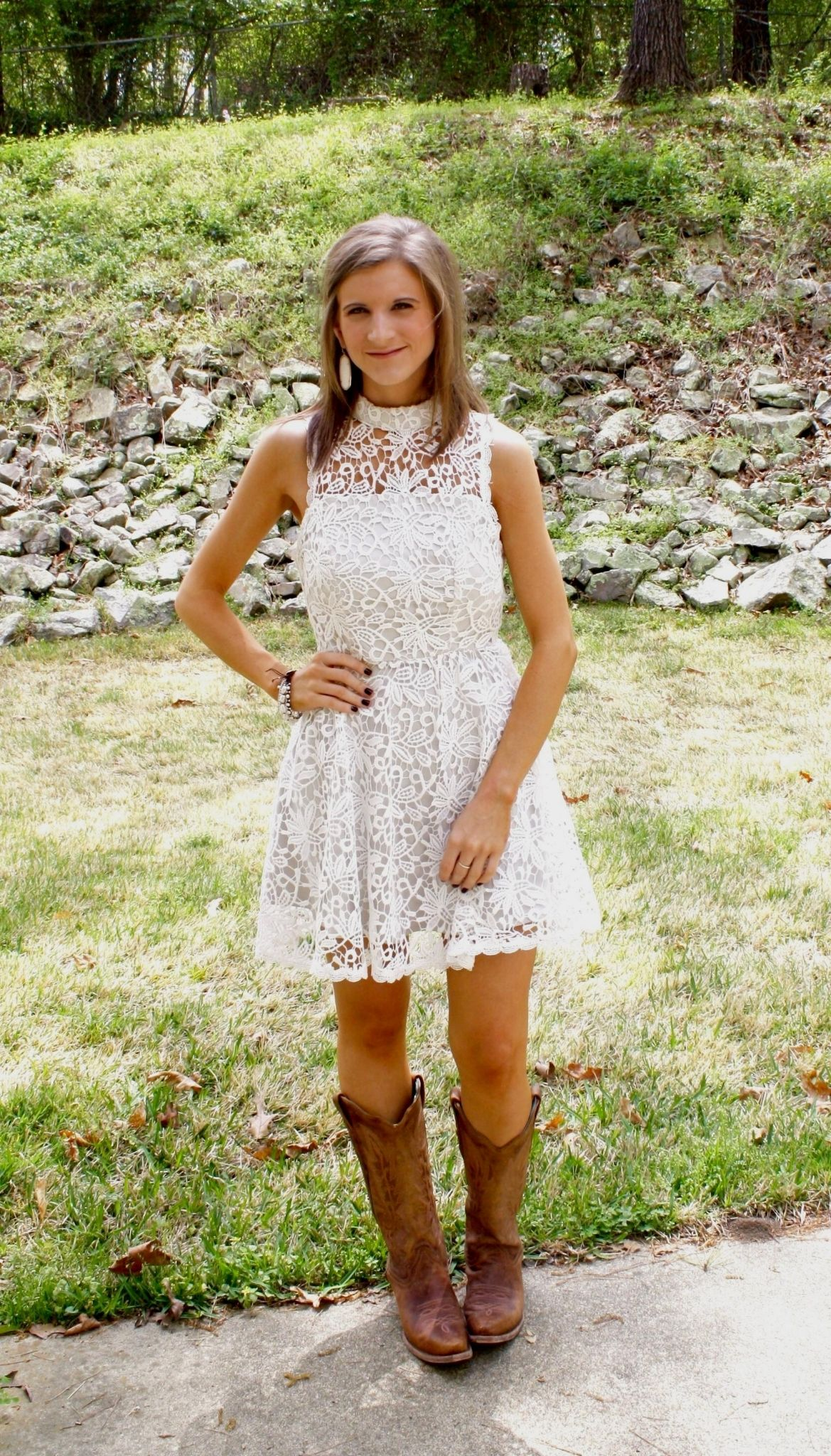 208ec12064f2 Wedding Guest Dress With Cowgirl Boots - raveitsafe