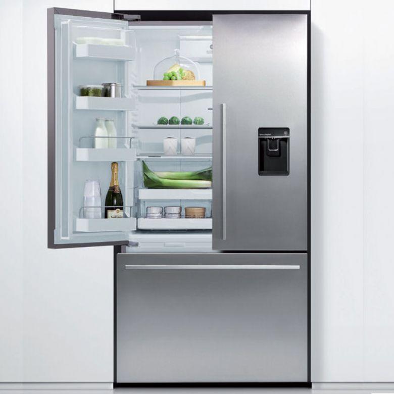 Double Door Fridge Freezer Part - 47: Fisher Paykel Three Door Fridge Freezer With Ice U0026 Water