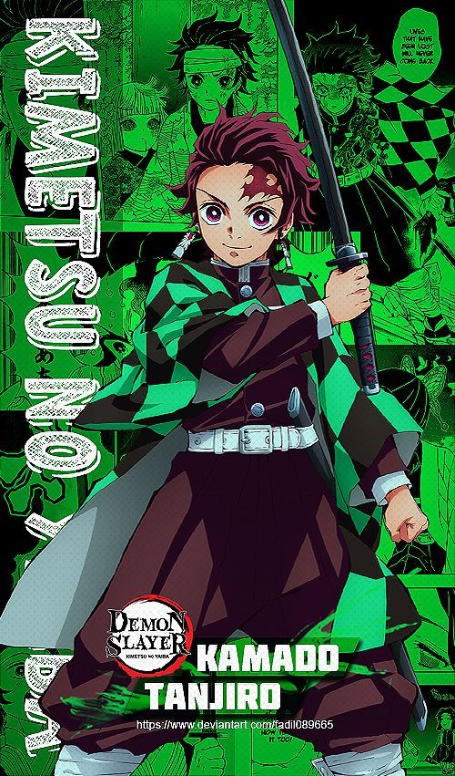 Tanjiro Kamado Kimetsu No Yaiba Wallpapers By Fadil089665 On Deviantart Anime Demon Slayer Anime Anime Characters
