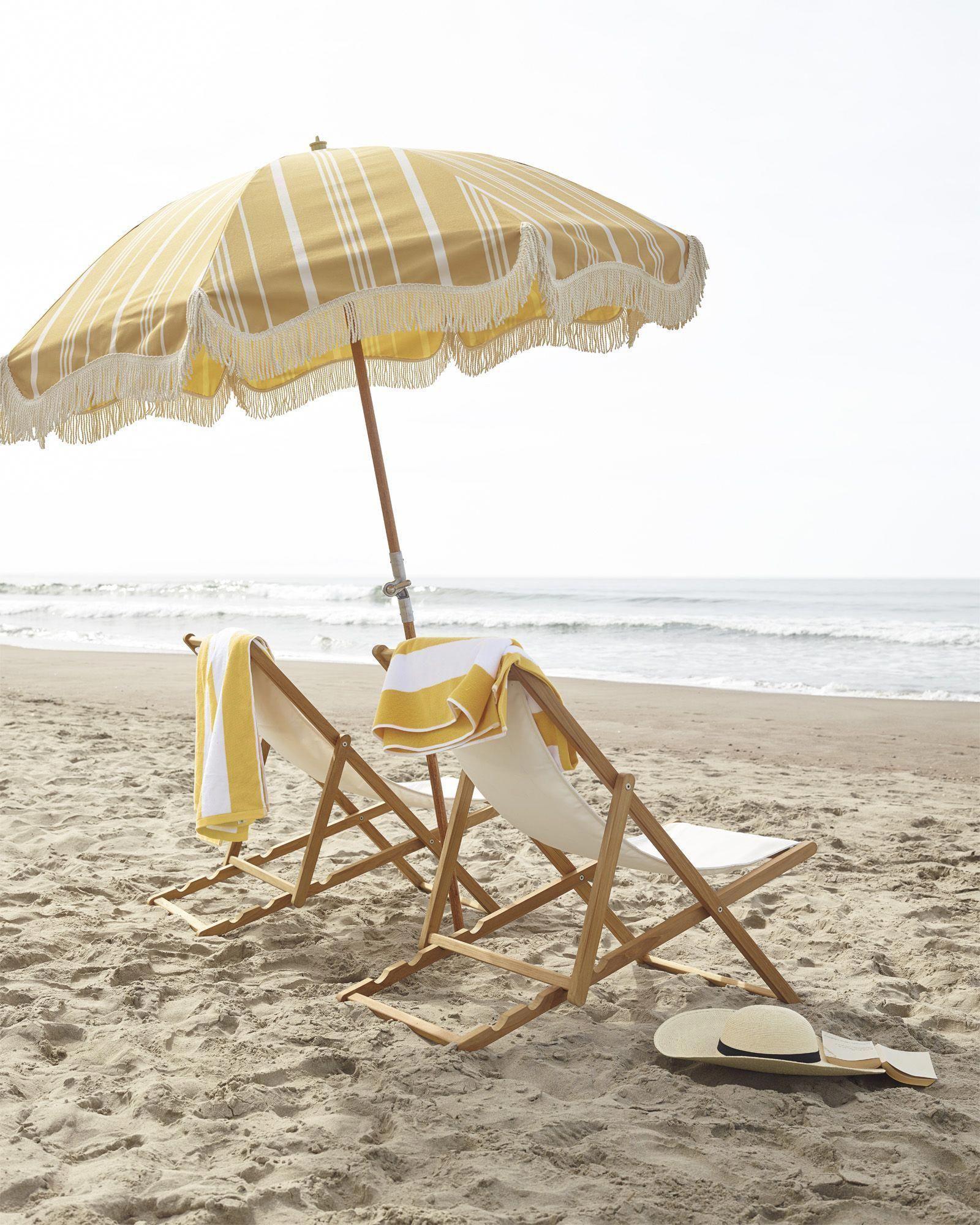 pembroke beach umbrella sling chairs beachcottages vacation rh pinterest com