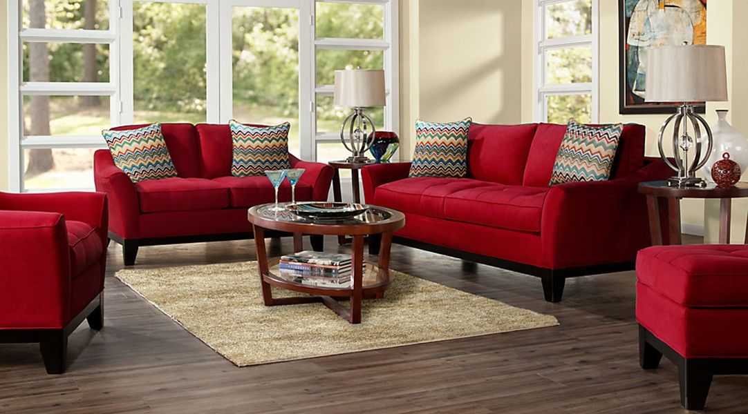 ideas and tips for red living room furniture with the many