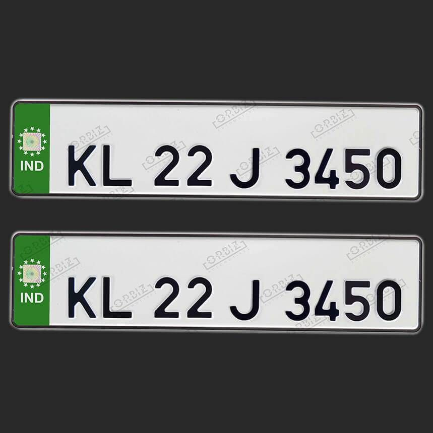 Orbiz Speedex Online Fonts Number Plate Plates