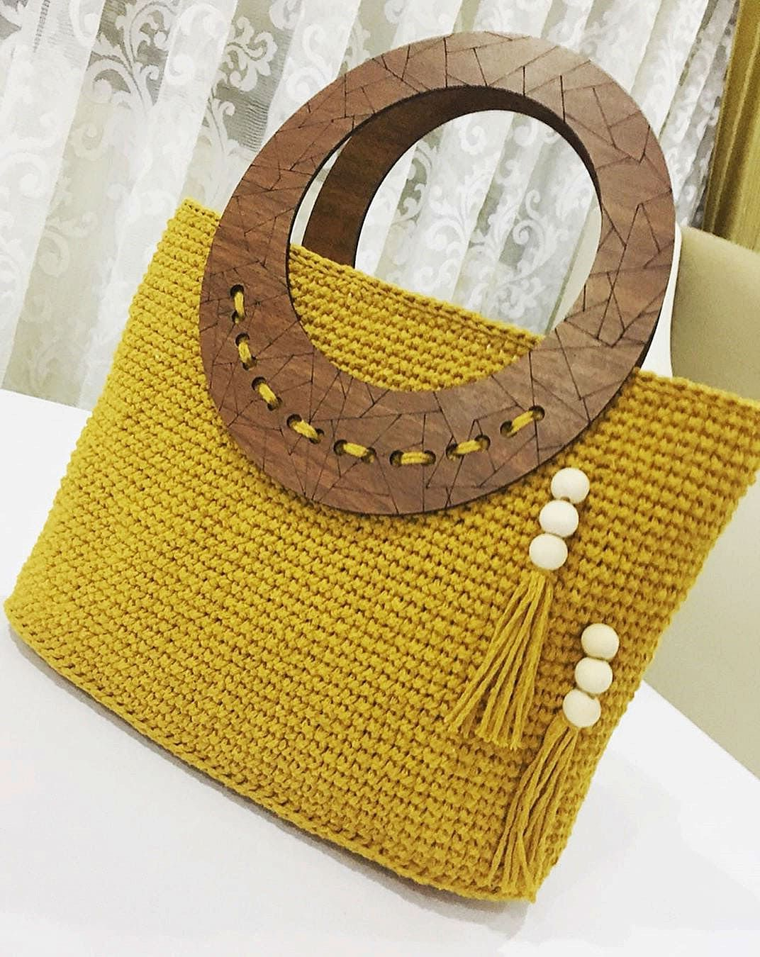 50+ Glamorous Crochet Bag Patterns for Summer 2019 - Page 68 of 81