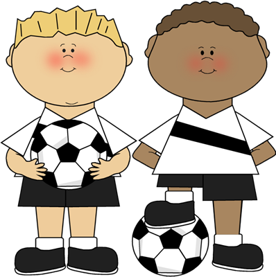 Image result for clip art soccer players