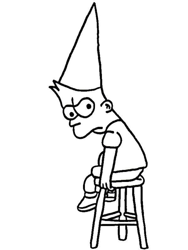 Dibujos para Colorear Los Simpsons 25 | Dibujos para colorear para ...