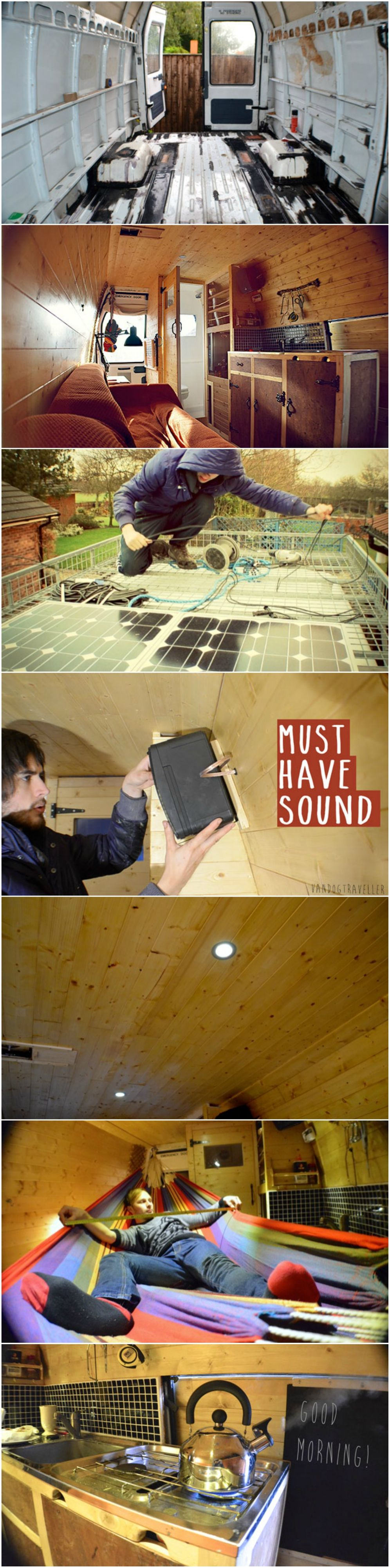 DIY Camper  From Rusty Van To Cosy Home    See more at  http. DIY Camper  From Rusty Van To Cosy Home    See more at  http   www