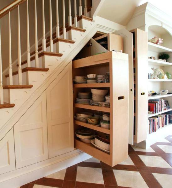Creative Staircase Space Ideas and Inspiration Bahçe