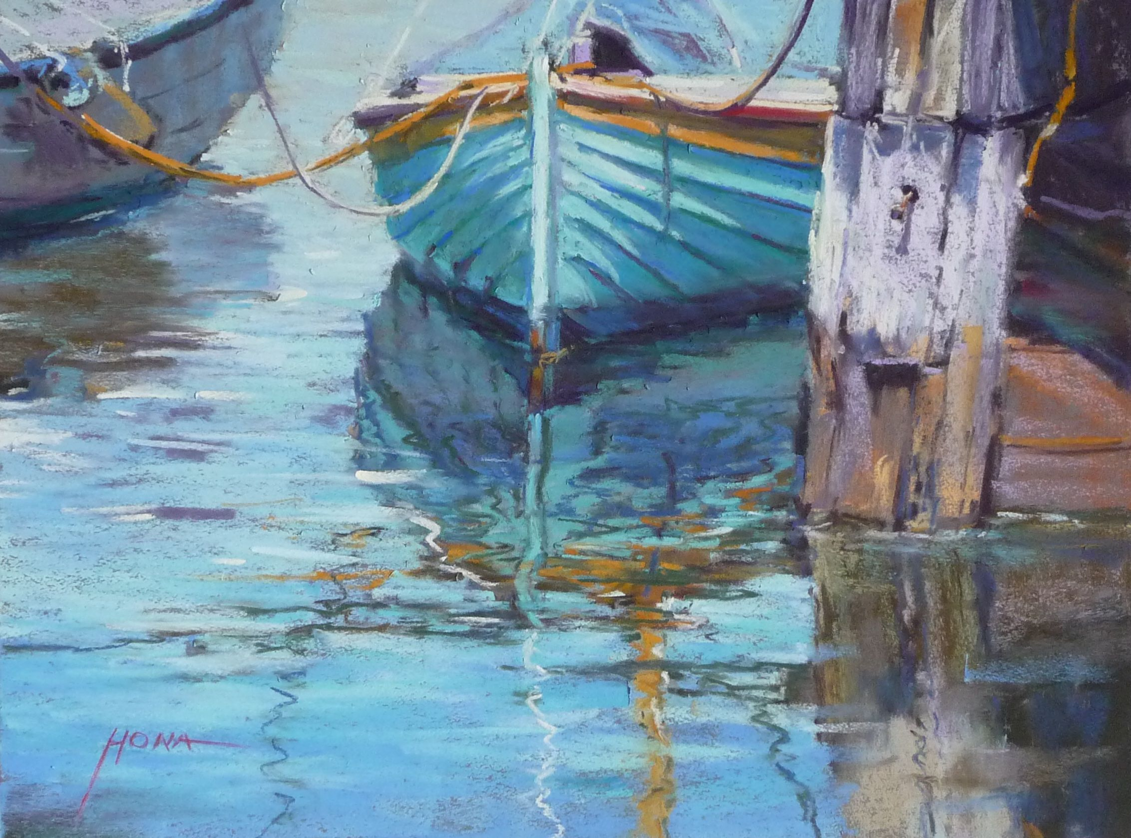 Pin von Regina Hona auf Paintings - Waterscapes | Pinterest