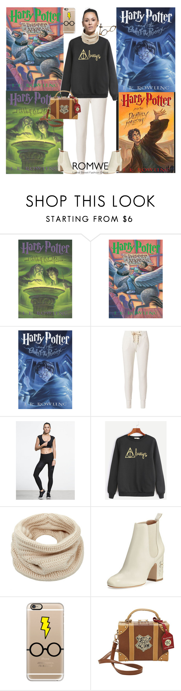 """""""Harry Potter Sweatshirt Contest!"""" by bevmardesigns ❤ liked on Polyvore featuring NSF, Helmut Lang, Laurence Dacade and Casetify"""