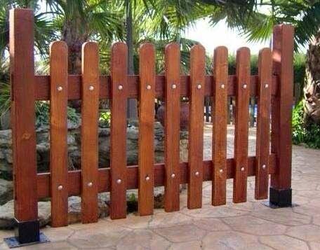 Resultado de imagen para cercas para jardin Carpintaria - cercas para jardin