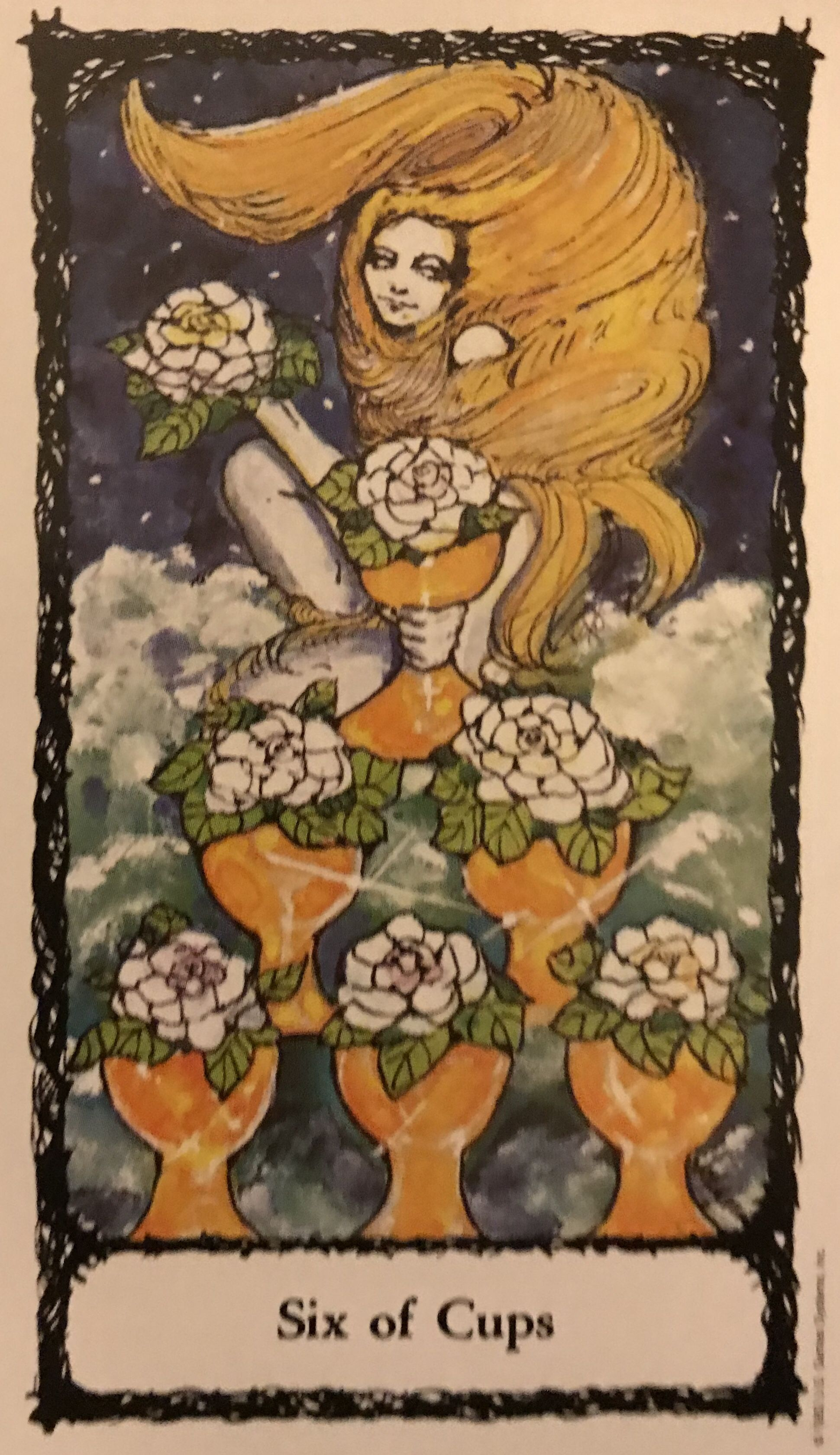 Card of the day 6 of cups sunday july 21 2019