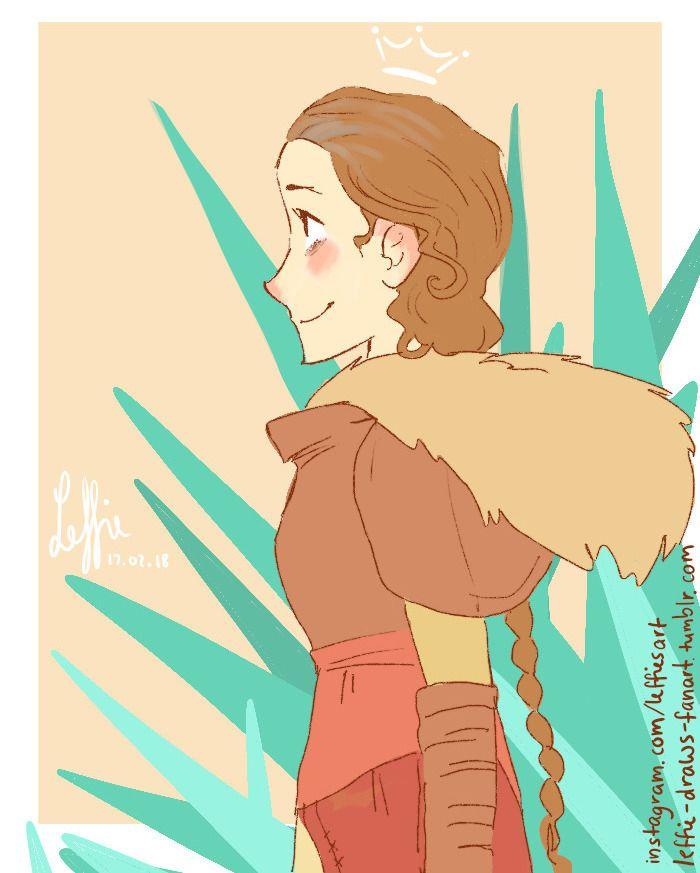 Queen of Dragons~  #art #valka #httyd #httyd2 #valkahaddock #queenofdragons #digital #digitalart #fanart #artrage #leffie