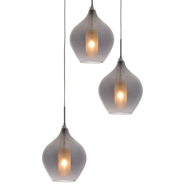 Best Masc Smoked Glass Lighting Replica Designer Cluster 400 x 300