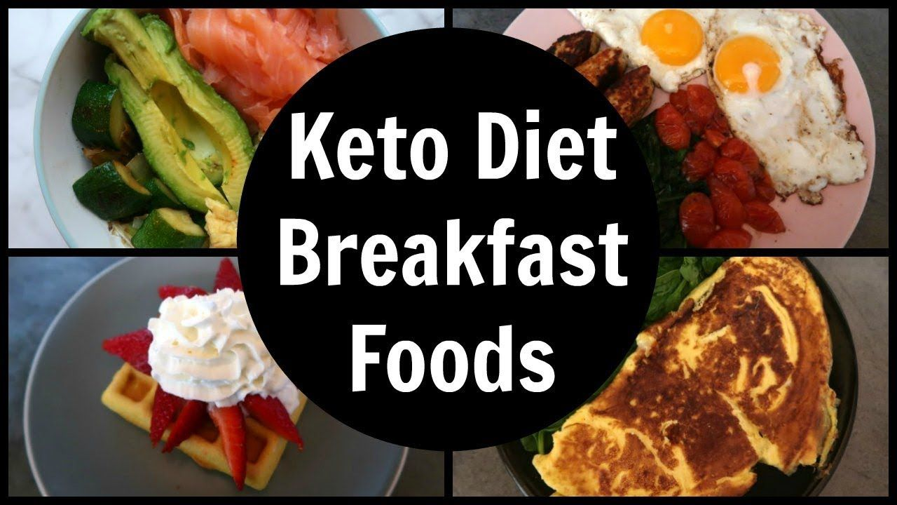 Keto Breakfast Foods Video What You Can Eat On The Keto