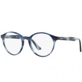 cb38b5456bb Ray Ban Full Rim Eyeglasses RB5361 – Grey Frame   Clear Lens ...