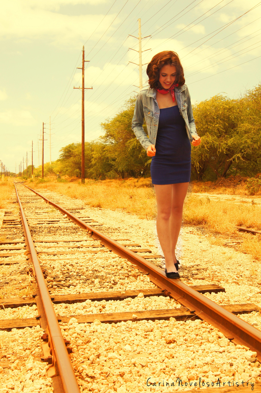 Model Vendila Sario. See more on my Facebook Page & Website. #creative #photography #hawaii #hair #makeup #fashion #mua #portrait #railroad #vintage #40's #thenotebook #inspiration