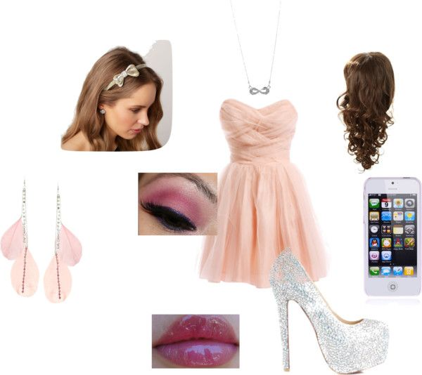 """peach"" by niallsperfectgf ❤ liked on Polyvore"