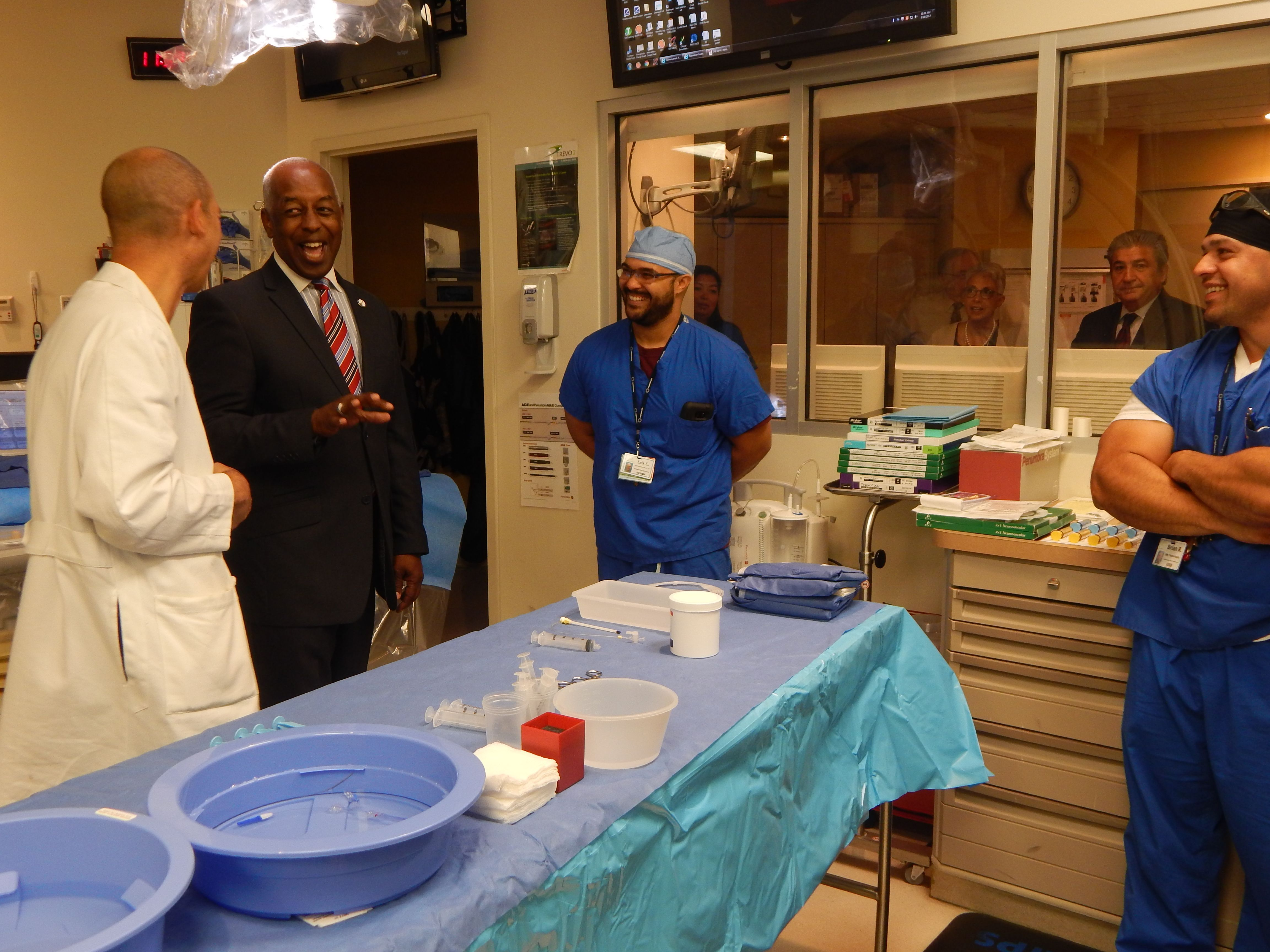 Thank You To Trenton Mayor Eric Jackson And His Staff For Stopping By For A First Hand Look At Our Mobile Str Intensive Care Unit Intensive Care Operating Room