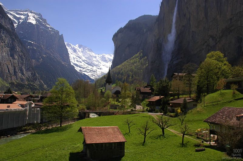 Lauterbrunnen, Switzerland - 800x531
