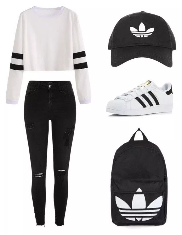 73 richtungsweisende Polyvore-Outfits für die Schule #schooloutfits #schooloutf... - Sandra