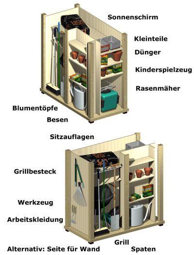 Garden Equipment Cabinet With Modern Functionality Jpg Garden Storage Garden Equipment Tool Sheds
