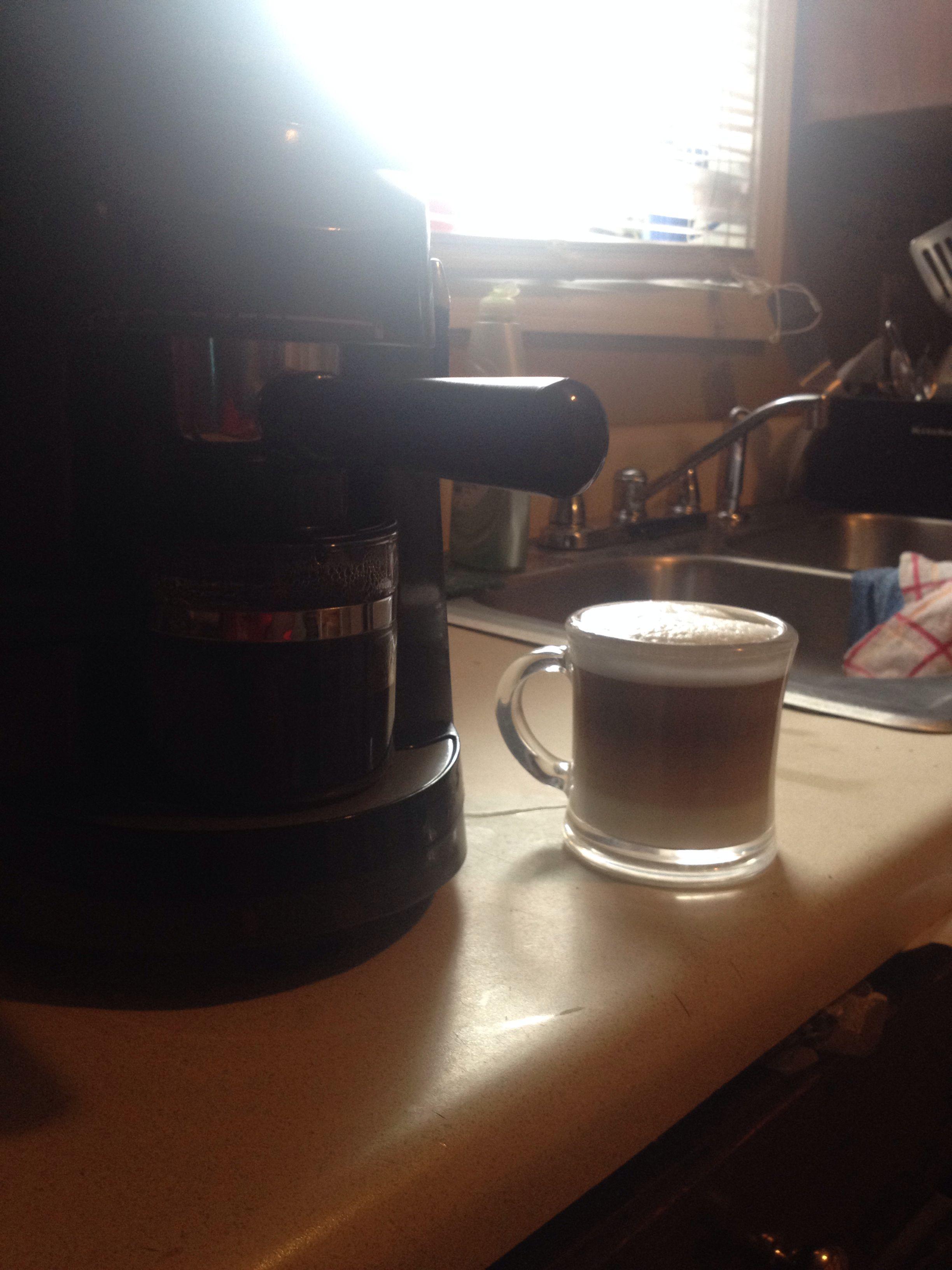 Mr.coffee espresso machine Espresso machine, Coffee