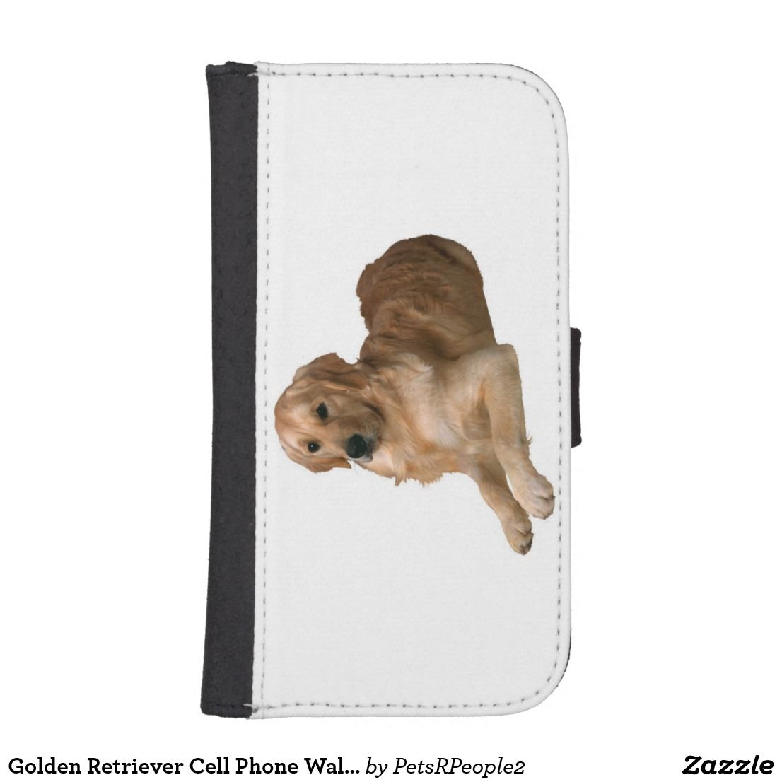 Golden Retriever Cell Phone Wallet iPhone Samsung Zazzle