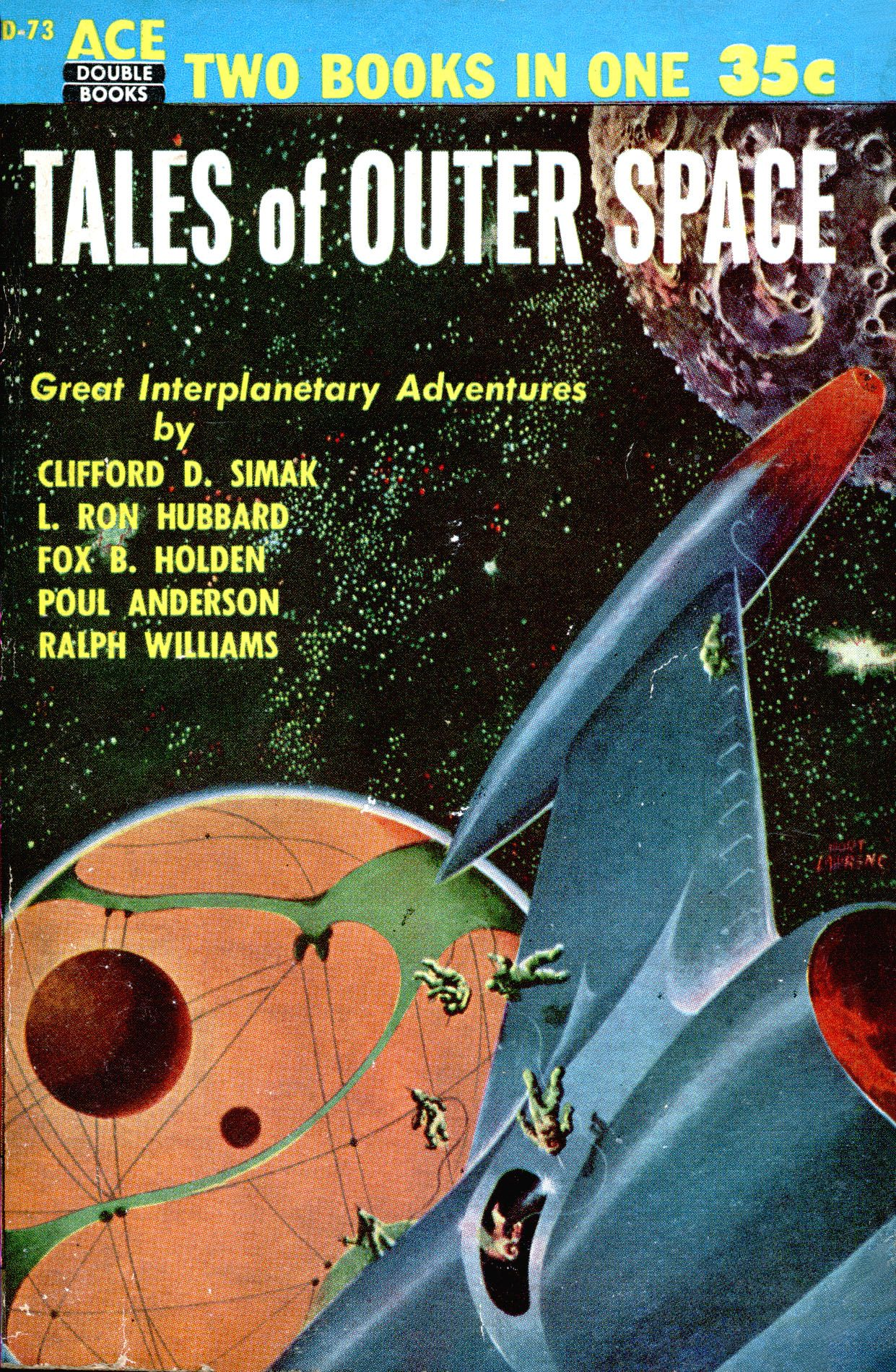 Tales Of Outer Space Donald A Wollheim Ed Cover