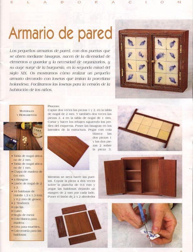 casas de mu ecas muebles de cocina miniatur. Black Bedroom Furniture Sets. Home Design Ideas