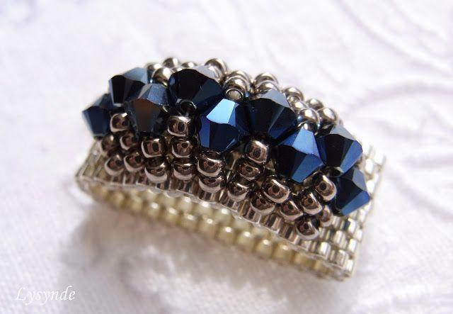 Lysynde   rings   Pinterest   Ringe, Perlen und Perlenschmuck