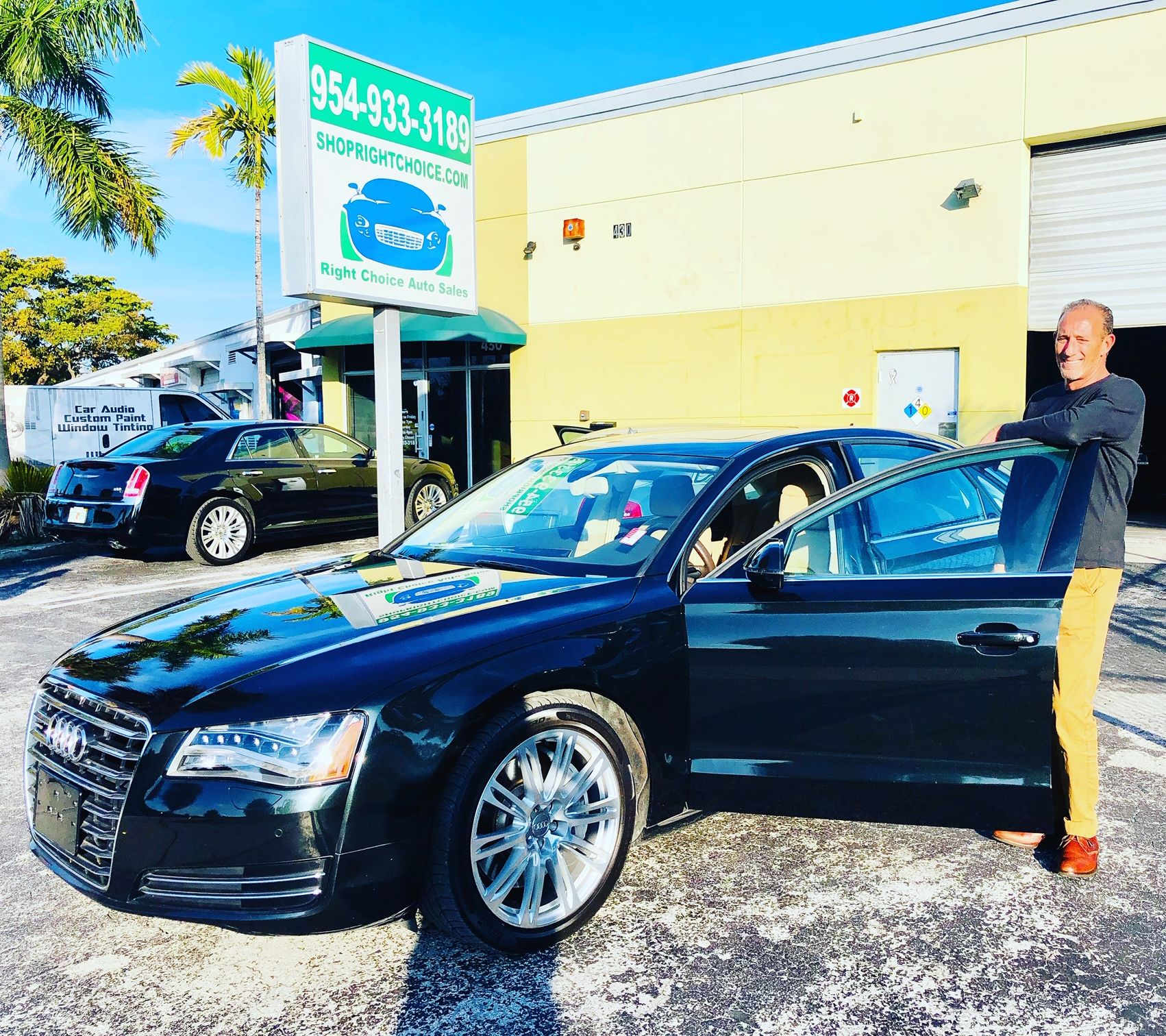 Joe Came From Stuart Florida To Trade In The 2009 Audi A8 He Bought Here 3 Years Ago And To Take Home This Like New 2011 Au Cars For Sale Used Luxury Cars Car