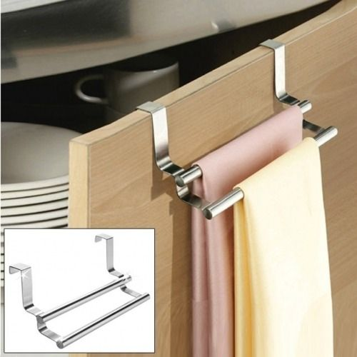 Accroche Torchons Barre Double Sweet Home Barre Towel Rack