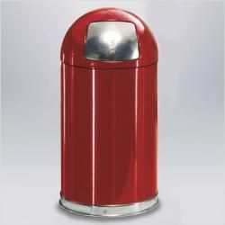 Small Round Top Waste Receptacle Trash Bins Garbage Can