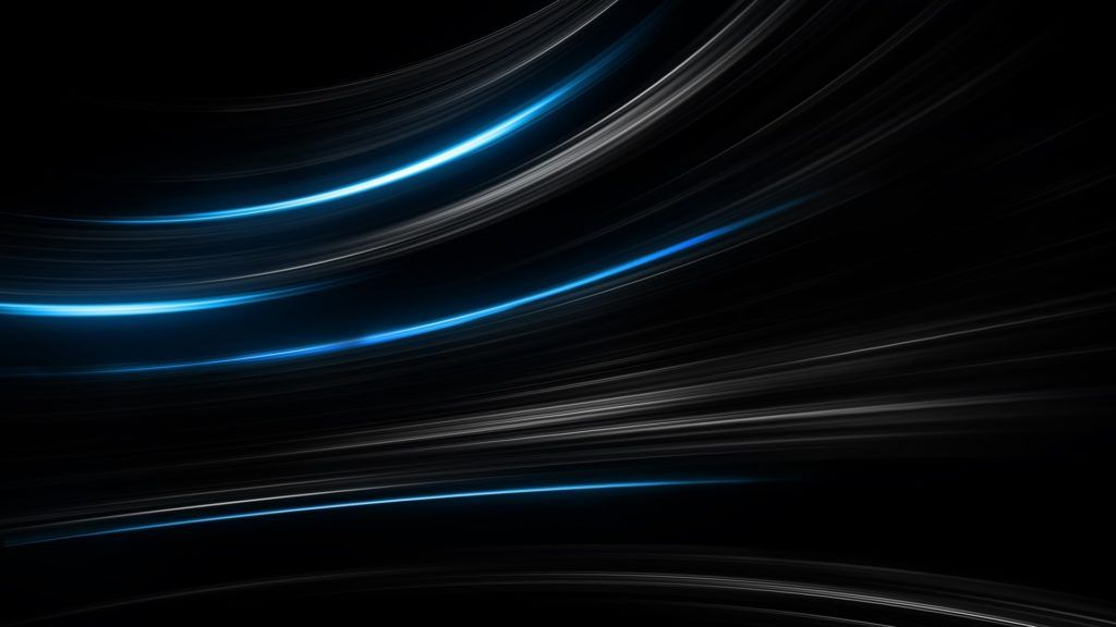 Simple Blue Black Wallpaper 4k