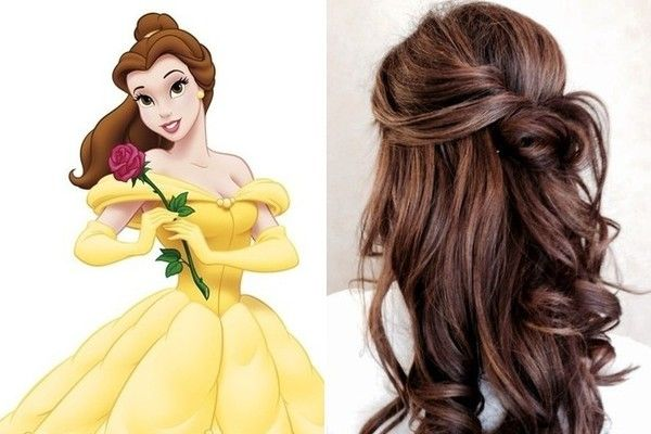 Belle Beauty And The Beast Hairstyle Ideas Pinterest Belle