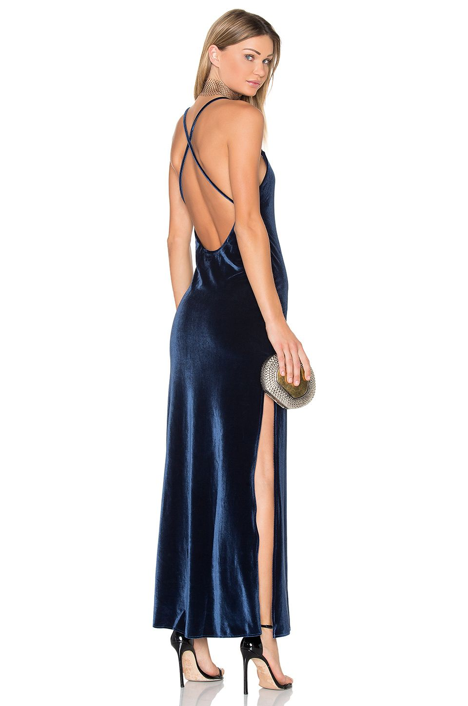 ac7a1945e88 NBD x REVOLVE In The Deep Maxi Dress in Navy