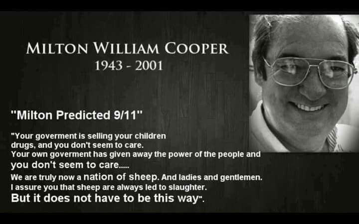 Image result for milton william cooper