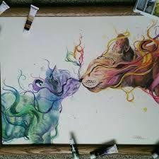 Resultado De Imagen De Pinterest Especial Tecnicas De Lapices Acuarelables Imagenes Artistas Dibujos Lapices De Acuarela