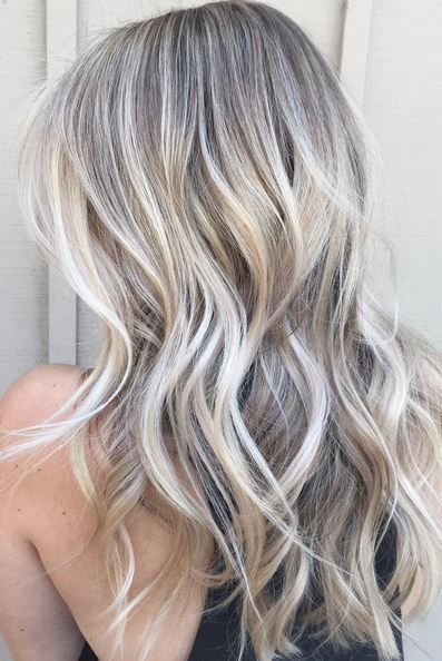 Trendy Hair Color Ideas 2017 2018 Blonde Babylights With