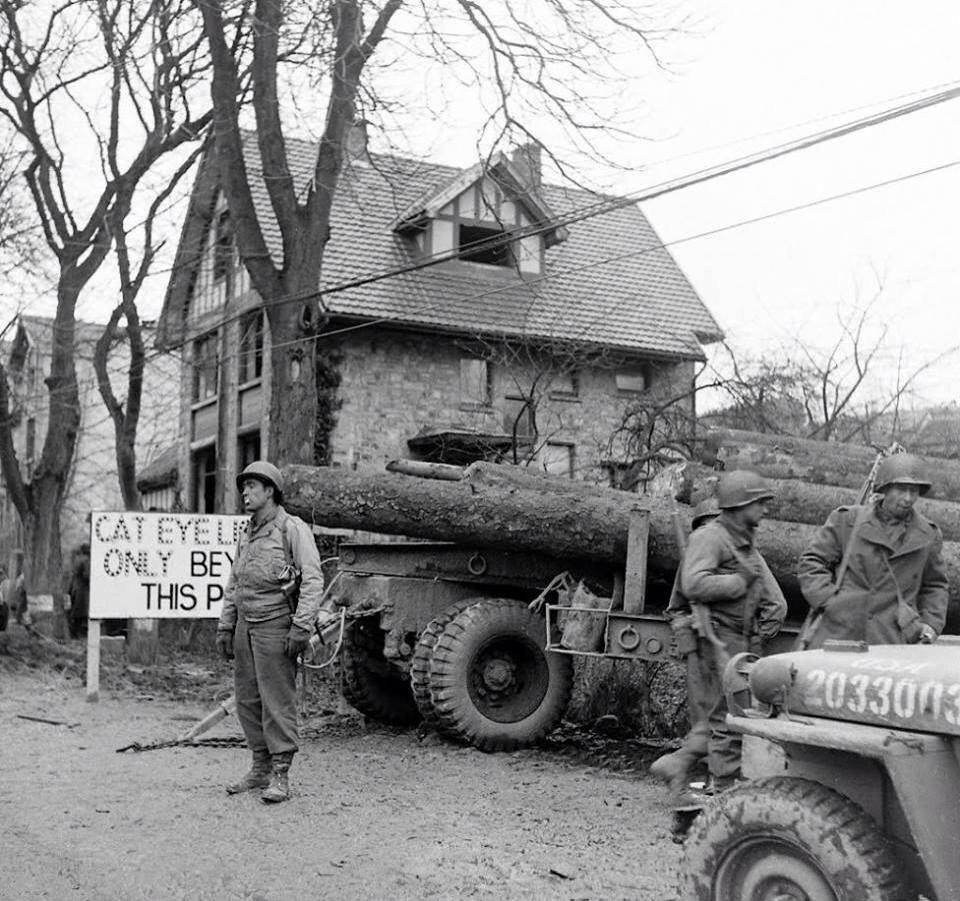 Battle Of Bulge. Malmedy Belgium 1944. Ww2 World