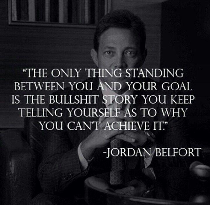 Jordan Belfort Quote Jordan Belfort Quotes Sales Quotes