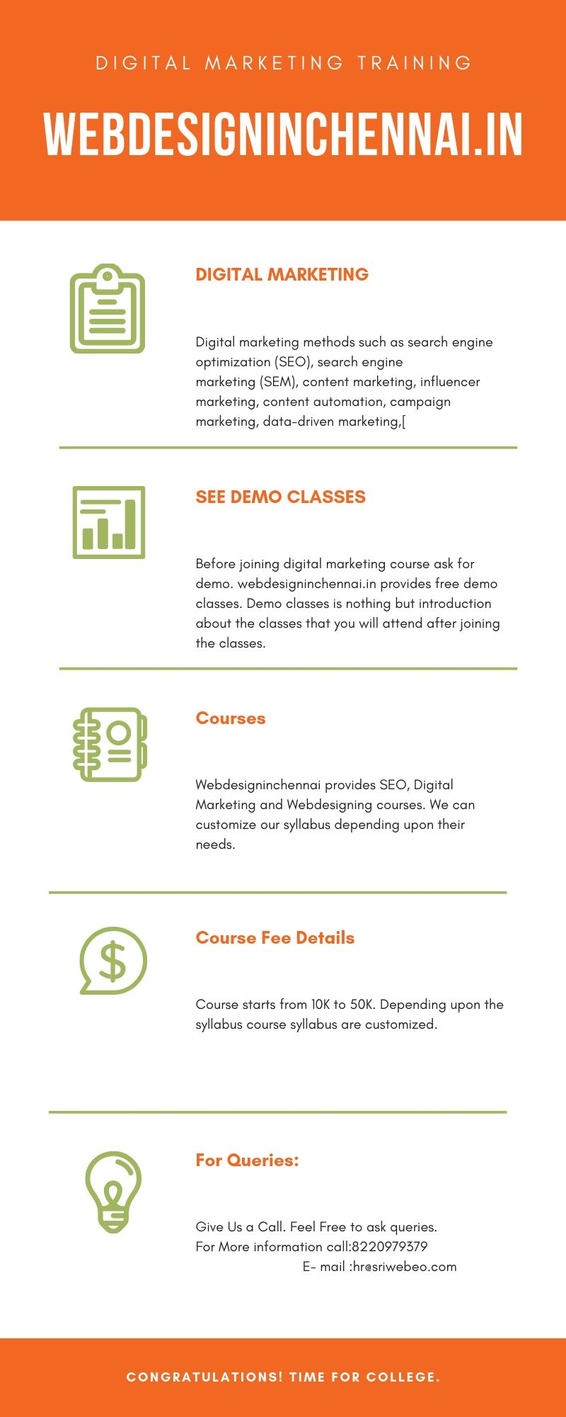 Digital Marketing Course Training In Coimbatore Web Design Company Marketing Method Website Design Services