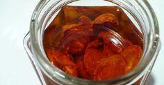 Essen aus Engelchens Küche: Halbgetrocknete Kirschtomaten in Öl