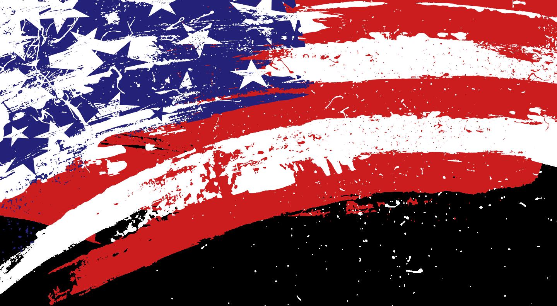 American Flag Art Wallpaper Bandeira Dos Estados Unidos Capa Facebook Capa De Twitter