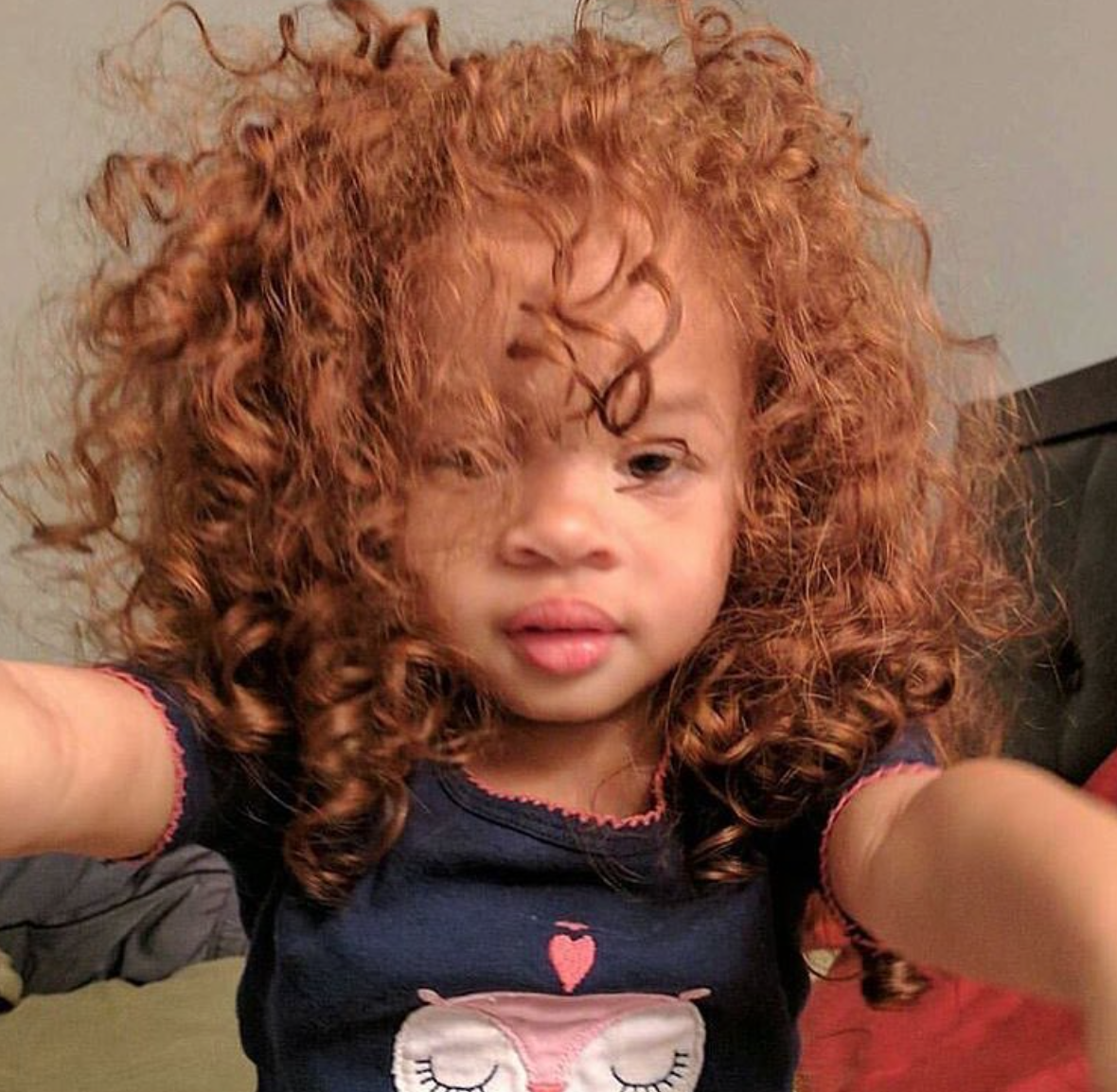 from Malcolm black girls red hair