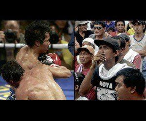 The punch that knocked out national boxing hero Manny Pacquiao left the Philippines shocked.