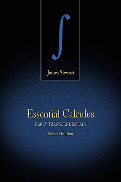 Student Solutions Manual For Stewart S Essential Calculus Early Transcendentals 2nd By James Stewart Cengage Learning Calculus Calculus Textbook Book Essentials