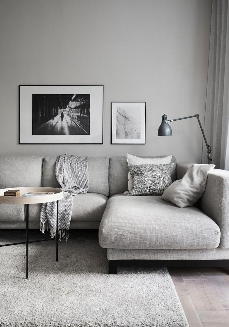 Cold and warm looks combined #apartmentlivingrooms